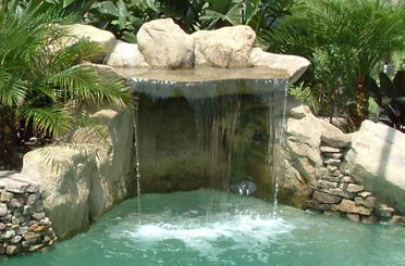 Custom Features Orlando Rock Waterfalls Lake Nona Grottos