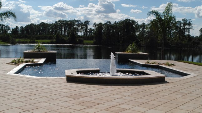 Contemporary, Geometric Pool Designs Orlando, Winter Park, Lake Nona